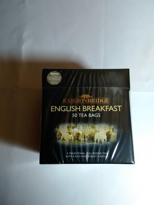 KNIGHTBRIDGE ENGLISH BREAKFAST HERBATA Z ANGLII